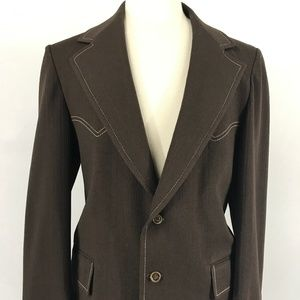 70s Lenox Royal Collection Western Blazer